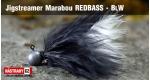 Jigstreamer Marabou REDBASS - BLW