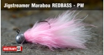 Jigstreamer Marabou REDBASS - PW