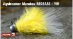Jigstreamer Marabou REDBASS - YW