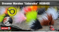 "Streamer Marabou ""cheburaska"" REDBASS"