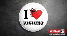 Badge: I love fishing