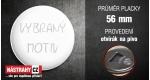 průměr 56 mm - otvírák na pivo +0.80 €