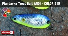 Spoons Trout Bait - ANDI 1,2 g