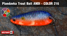 Spoons Trout Bait - ANDI 2,4 g