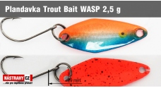 Spoons Trout Bait - WASP 2,5 g