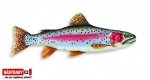 Fish pillow THE RAINBOW TROUT - lenght 62 cm