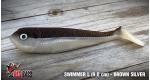 Swimmer L - BROWN/SILVER