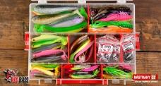 """Universal large discounted set 2021 perch / zander / pike / trout """"Cheburashka"""""""