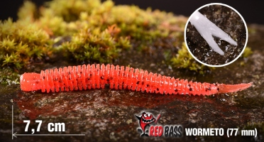 Worm/Minnow REDBASS WORMETO 77 mm