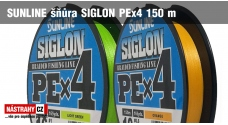 SUNLINE braided line SIGLON PEx4 150 m