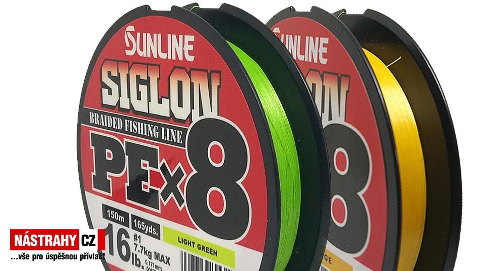 SUNLINE braided line SIGLON PEx8 150 m