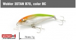 Wobbler 3STAN B70, Color: BC