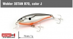 Wobbler 3STAN B70, Color: J