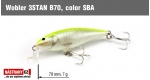 Wobbler 3STAN B70, Color: SBA