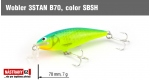 Wobbler 3STAN B70, Color: SBSH