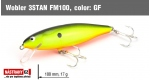 Wobbler 3STAN FM100, color: GF