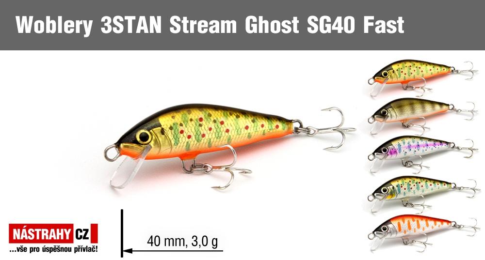 Wobbler 3STAN Stream Ghost SG40 Fast